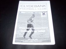 Clydebank v Ayr United, 1998/99
